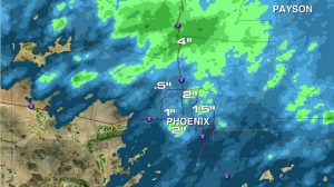 Flash Flooding Wallops Phoenix, Rescues Underway