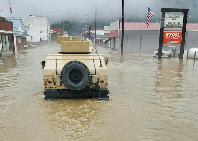 Soldiers Answer the Call After Devastating Floods in West Virginia