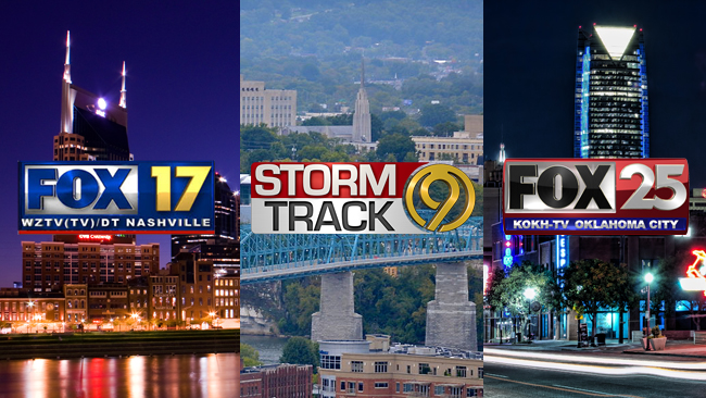 WeatherNation Welcomes Three Sinclair Stations in Nashville