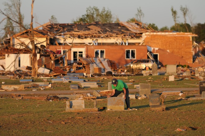 Resident struggles to restore resting place