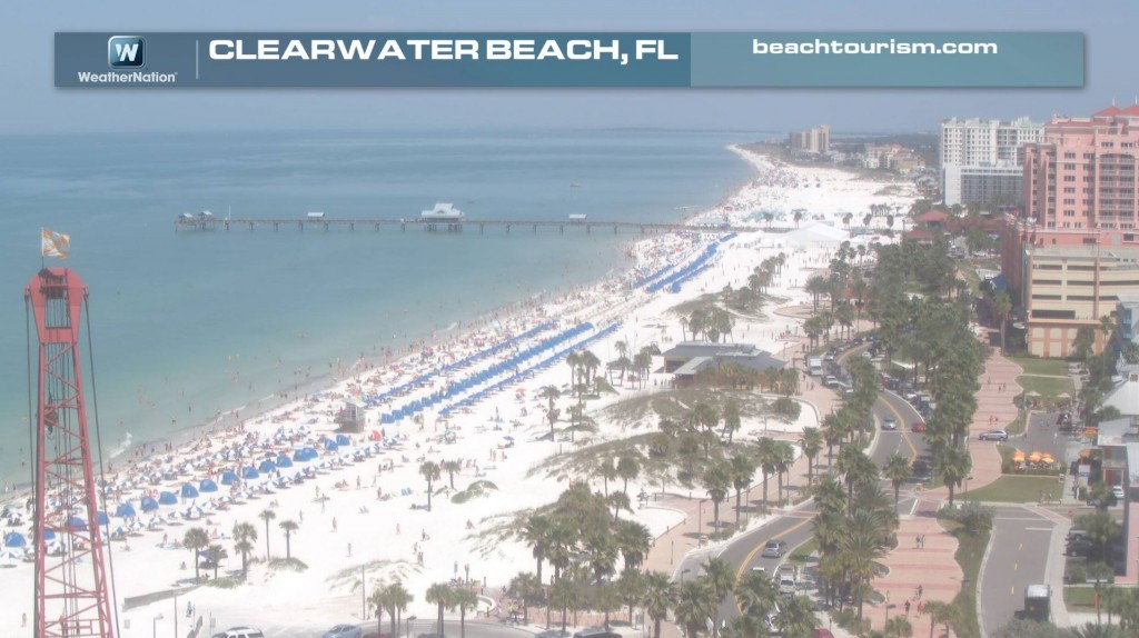 Clearwater Beach Fl  Day Weather