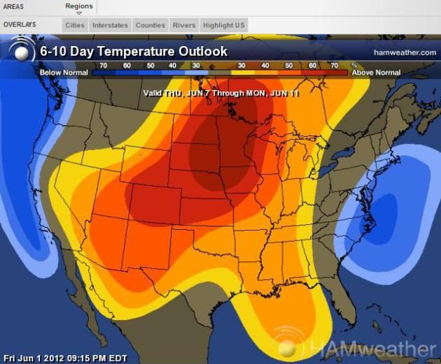 Warmer, Drier, and Nicer For Much of America