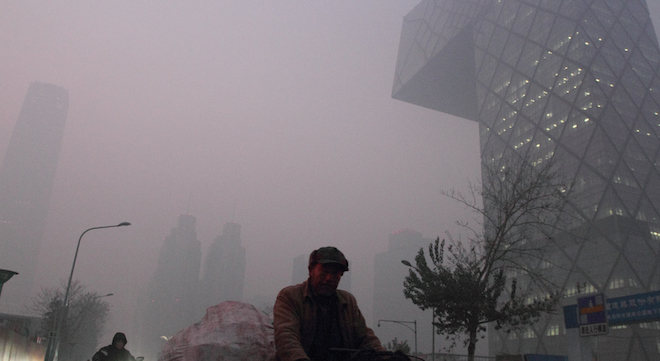 Beijing Pollution Reaches Historic Levels