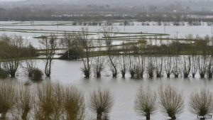 United Kingdom Inundated with Rain