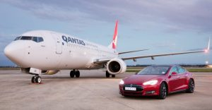 WATCH: Tesla Raced a Model S Against a Qantas Jet
