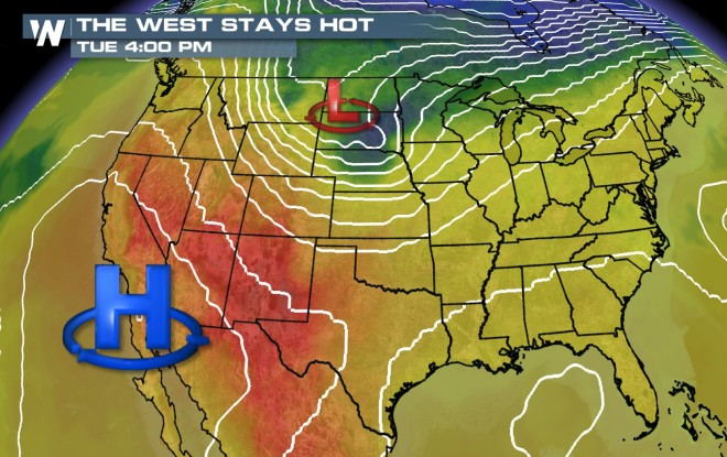 Canada Sends a Cool Down South - WeatherNation