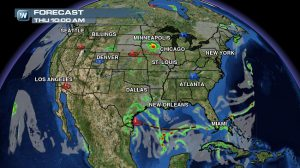 Weather Roundup: National Forecast for Aug. 28