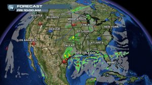 Weather Roundup: National Forecast for Aug. 29
