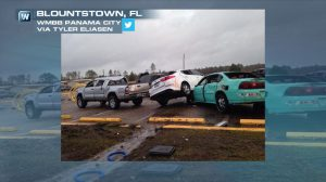 PHOTOS: Possible Tornado Causes Damage, Injures 2 in Florida; Severe Threat Shifts South and East