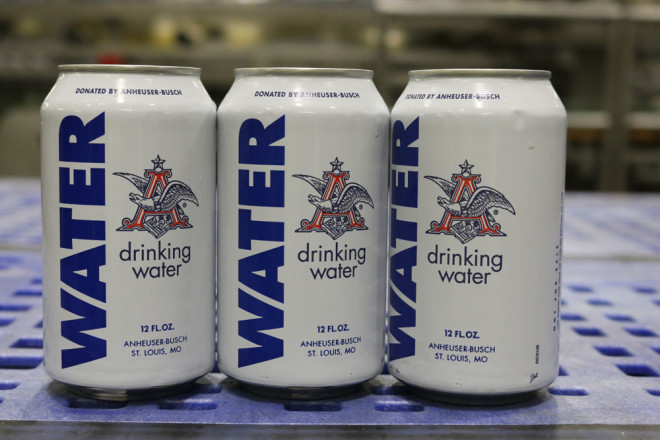 Water Everywhere but Anheuser-Busch Is Bringing the Water to Drink