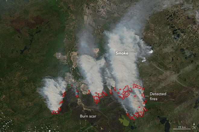Fort McMurray Fires Continue in Alberta