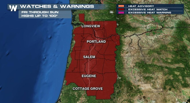 Extreme Weekend Heat Wave Coming to the Pacific Northwest
