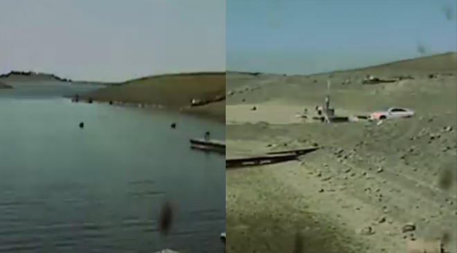California Drought: Shocking Time Lapse Video Shows Lake Dry up Before Your Eyes