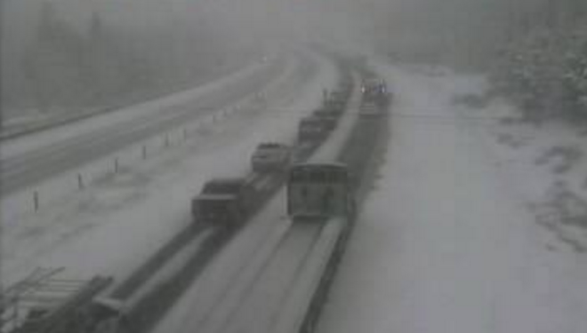 Interstate Re-Opens in Colorado After Multiple Crashes Due to Snow