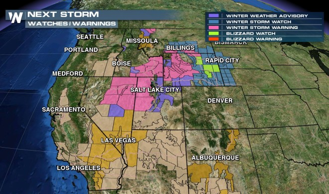 Blizzard Conditions Possible for Parts of Wyoming by Mid-Week!