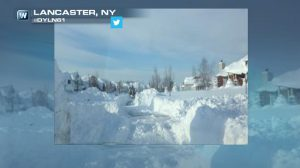 Record-Shattering Snow Ends in Buffalo, Flooding Now A Concern