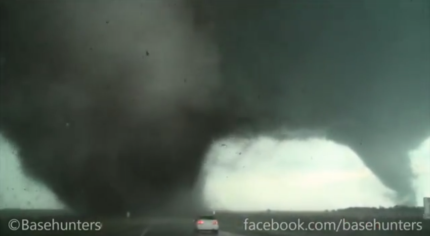 Twin Tornadoes Sweep Through Pilger, Nebraska