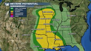 Severe Threat Returns Mid-Week