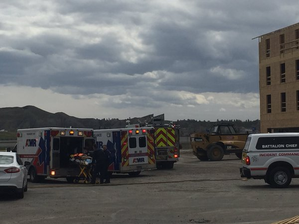 2 Hospitalized after High Winds Blow Workers Down Elevator Shaft