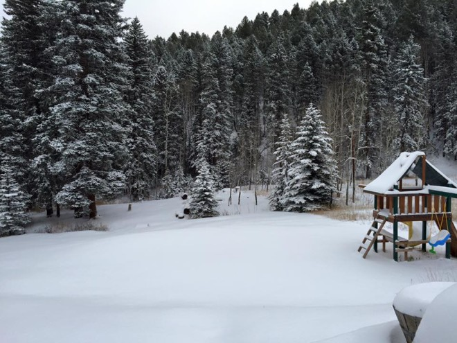 Conifer CO Snow 11-11-15  Audra Thornburg 2