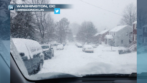 PHOTOS: Snow Blankets the Nation's Capitol, Pictures and Complaints Flood Social Media
