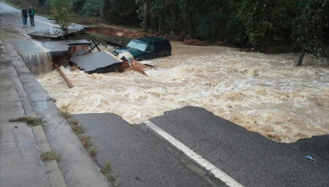 Deadly Thousand-Year Flooding Devastates South Carolina