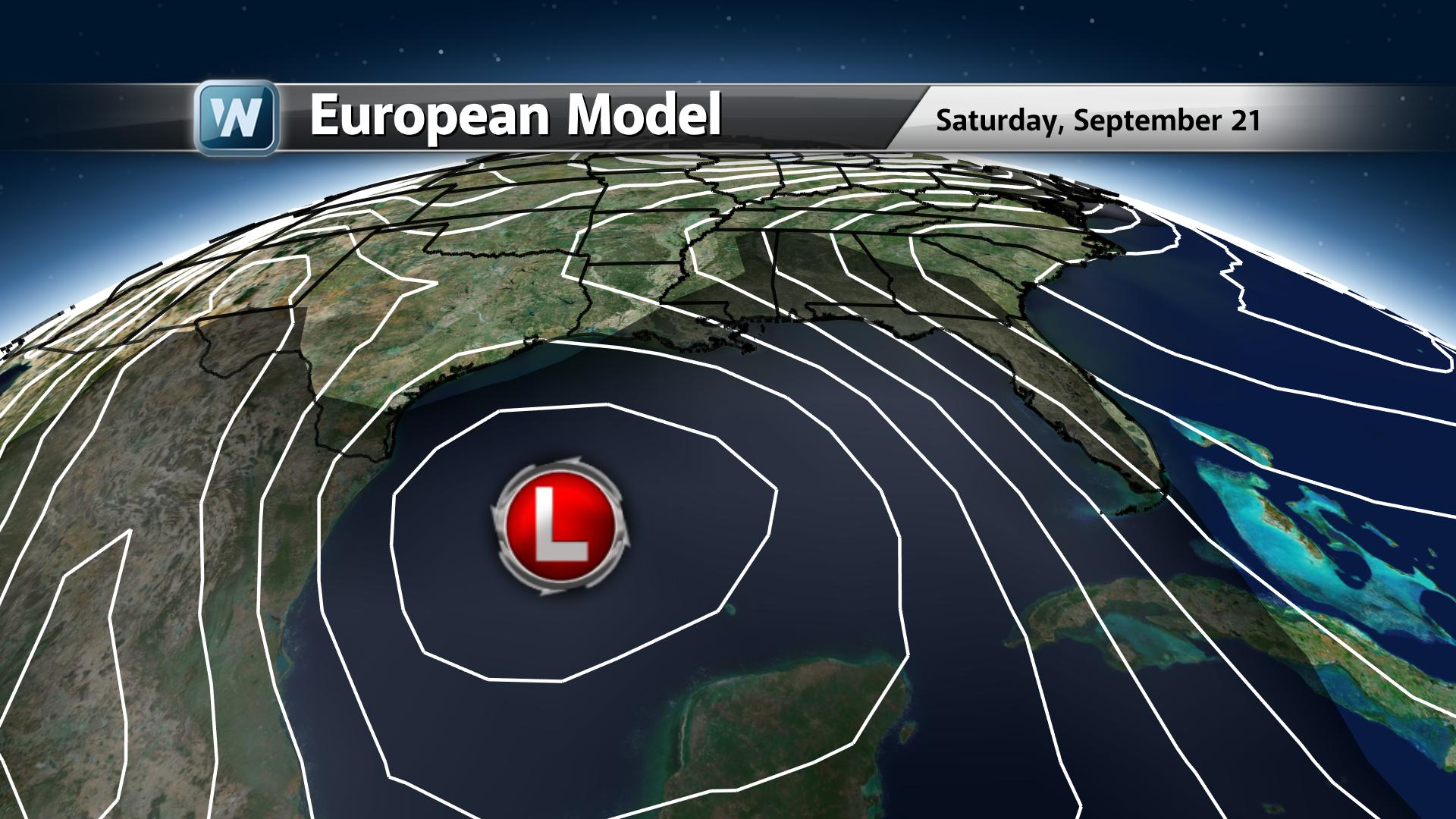 Tropical Activity In The Gulf Next Weekend?