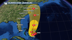 Upgraded: Joaquin Becomes Category One Hurricane
