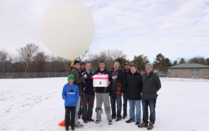 WATCH: High School Senior Launches Weather Balloon With GoPro to the Edge of Space