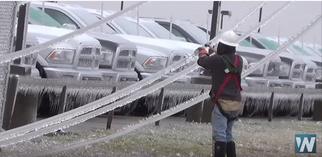 Ice & Winter Weather Slam Oklahoma Prompting State of Emergency 10