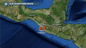 6.9 Earthquake Rocks Mexico and Guatemala