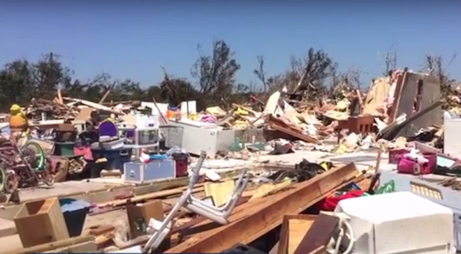 State of Emergency Declared in 15 Oklahoma Counties After Tornado Outbreak