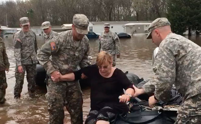 Louisiana Historic Flooding: National Guard Embed