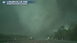 Tornado Damage in Dixie Alley, Storms Tonight in Same Area