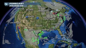 Weather Roundup: National Forecast for Nov. 6