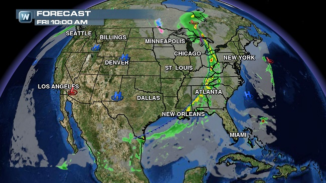 Strongest Storm in Years Set to Impact West Coast; Blizzard Warnings, High Wind Warnings and Flood Watches Issued