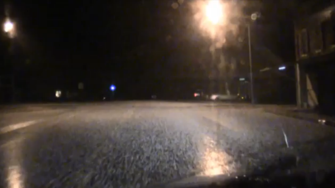 WATCH: Up to Golfball Sized Hail Slams Oklahoma