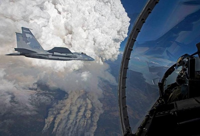 Oregon Air National Guard_Pyrocumulus_NWSMedford_1