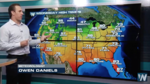 Owen 'The Weatherman' Daniels Teams Up With WeatherNation