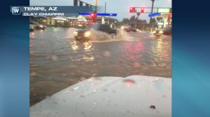 Flash Flooding Inundates Phoenix, Airport Breaks 81-Year Record