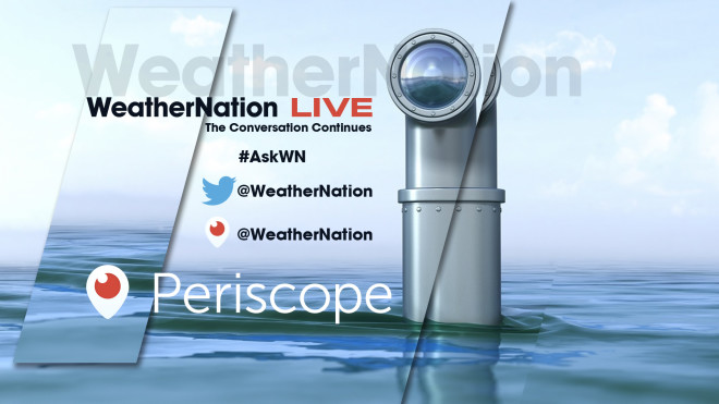 Ask WeatherNation: LIVE Weather Q&A