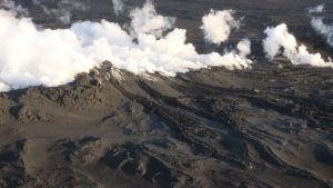 Volcanic Eruption Blasts Icelandic Glacier with Lava, Another in Papua New Guinea Creates Spectacular Ash Cloud