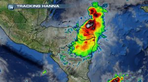 Tropical Storm Hanna Pops-Up in the Caribbean