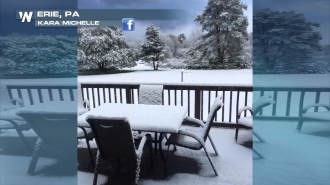 PHOTOS: Mid-October Winter Snow Storm!