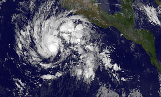 Sandra Now Strongest Storm This Late in the Season