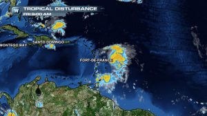 Tropical Storm Bertha Churns Through the Lesser Antilles