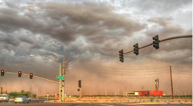 Giant Haboob Dust Storm Hits Arizona – Second Day in a Row