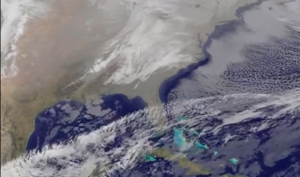 Major Winter Storm Headed For Eastern US | Seen From Space