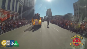 Timelapse: One Million People Turnout for Bronco's Super Bowl Victory Parade