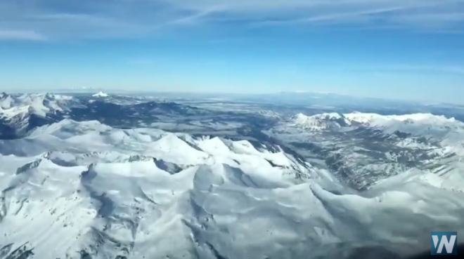 VIDEO: Breathtaking Flight Over the San Juan Range of the Rocky Mountains